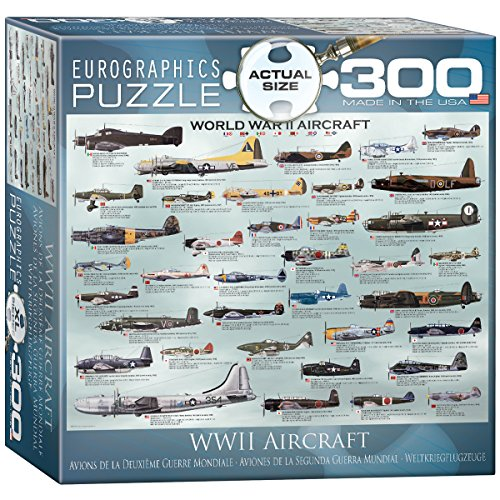 EuroGraphics WWII Airplanes 300 Piece Puzzle  Puzzle