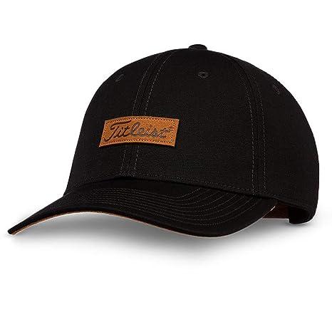 ceaacdad Amazon.com: Titleist Men and Women's Golf Caps (Charleston, Black ...