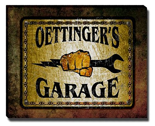 oettingers-garage-stretched-canvas-print