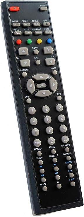 Mando a Distancia para TV SUNSTECH/Leiker TL-1953D TL-X1960D TL-X2210D: Amazon.es: Electrónica