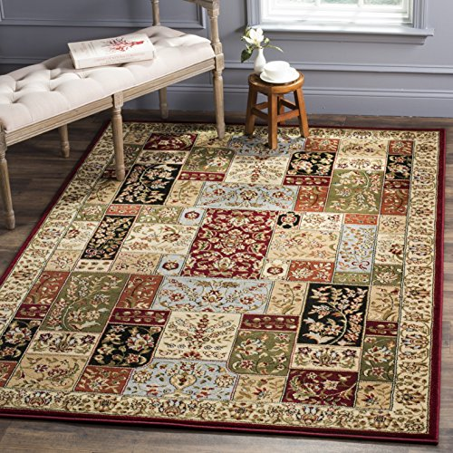 Safavieh Lyndhurst Collection LNH318A Traditional Multi and Ivory Area Rug (4' x 6')