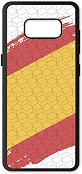 PHONECASES3D Funda móvil Compatible con Samsung Galaxy S8 Plus España Bandera. Carcasa de TPU de Alta protección. Funda Antideslizante, Anti choques y caídas.: Amazon.es: Electrónica