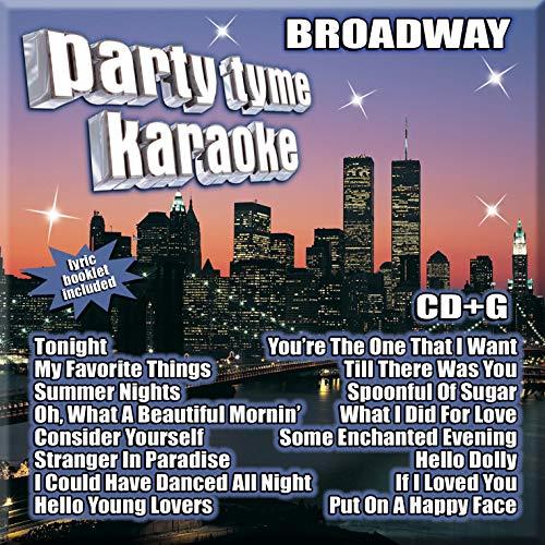 Party Tyme Karaoke - Broadway (16-song CD+G) (Cds Karaoke Broadway)