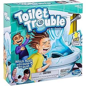 Hasbro Gaming Toilet Trouble Game