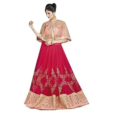 433b2fe5e839 Amazon.com: New Ponchu Wedding Bollywood Designer Bridal Lehenga Choli  Dupatta Custom to Measure Indian 2790: Clothing