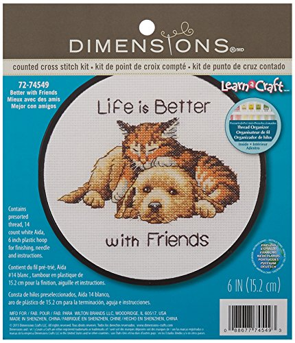 Dimensions ''Life is Better with Friends'' Kitten and
