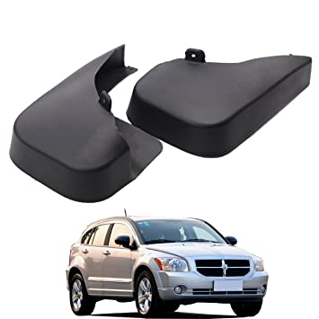 Splash Guards Aletas de barro con logotipo de Dodge para Dodge Caliber 2007-2012
