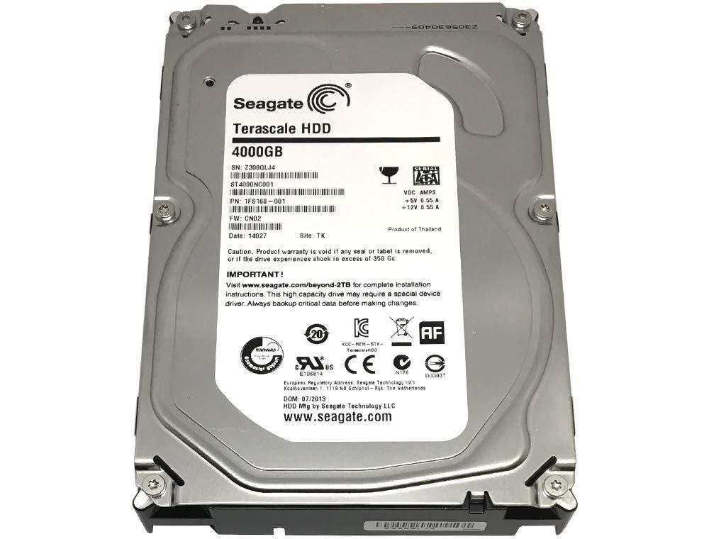 Seagate 4 TB Terascale HDD SATA 6Gb/s 64MB Cache 3.5-Inch Internal Bare Drive (ST4000NC001)