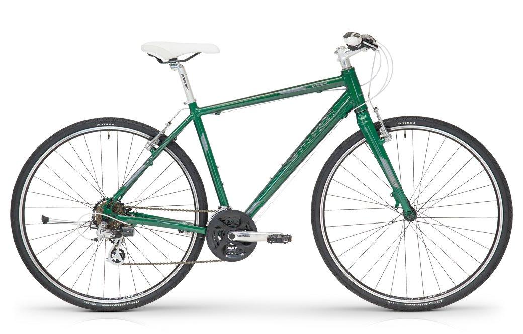 センチュリオン 2016 CROSS LINE 30R アルミクロスバイク B079GQZWS7 37cm145~160cm グリーン グリーン 37cm145~160cm