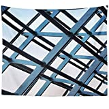 Westlake Art - Structure Frame - Wall Hanging Tapestry - Picture Photography Artwork Home Decor Living Room - 68x80 Inch (DE58-203FB)