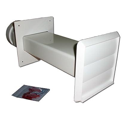 Kit de ventilación para secadora (blanco gravedad de salida ...