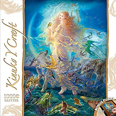 Kinuko Y. Craft 1000pc Puzzle - Rhiannon: Toys & Games