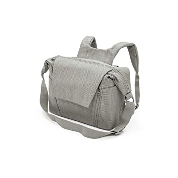 1d51048c7f05a Amazon.com : Stokke Changing Bag in Brushed Grey : Baby