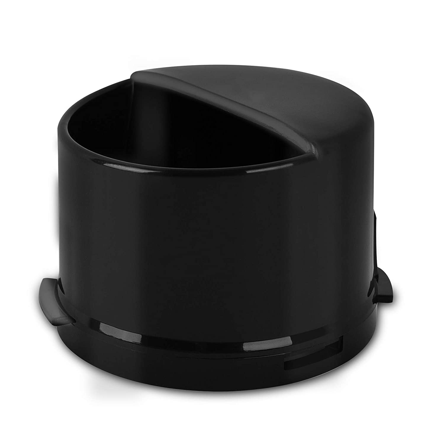 Coipur Whirlpool Water Filter Cap for Refrigerators Fits Most Whirlpool and Kenmore Side by Side Refrigerators 4396841,469020,W10121145 (Black) 1 PC (black, 1)