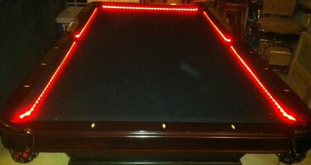 Amazon octane lighting bar billiard pool table bumper led rgb amazon octane lighting bar billiard pool table bumper led rgb color changing lights remote automotive greentooth Image collections