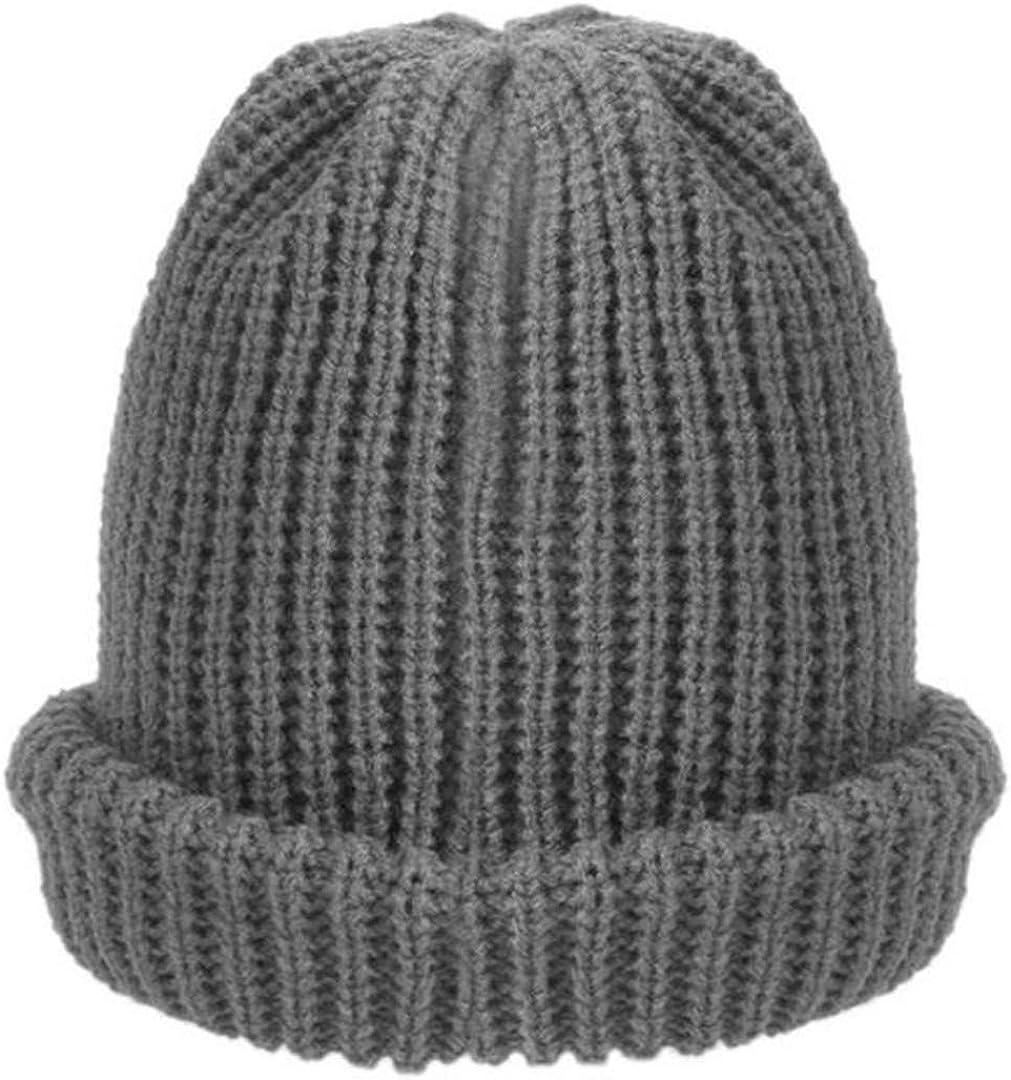 ZHENYSHKD 1Pc Men Women Warm Winter Knitting Ski Beanie Skull Slouchy Cap Hat Unisex Fashion