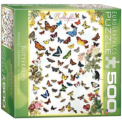 Butterflies Puzzle, 500-Piece ()