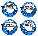 Valterra RV Trailer LLC 1/2 Inchx50 Inchdrinking Hose-Blue Fresh Water Hose (4)