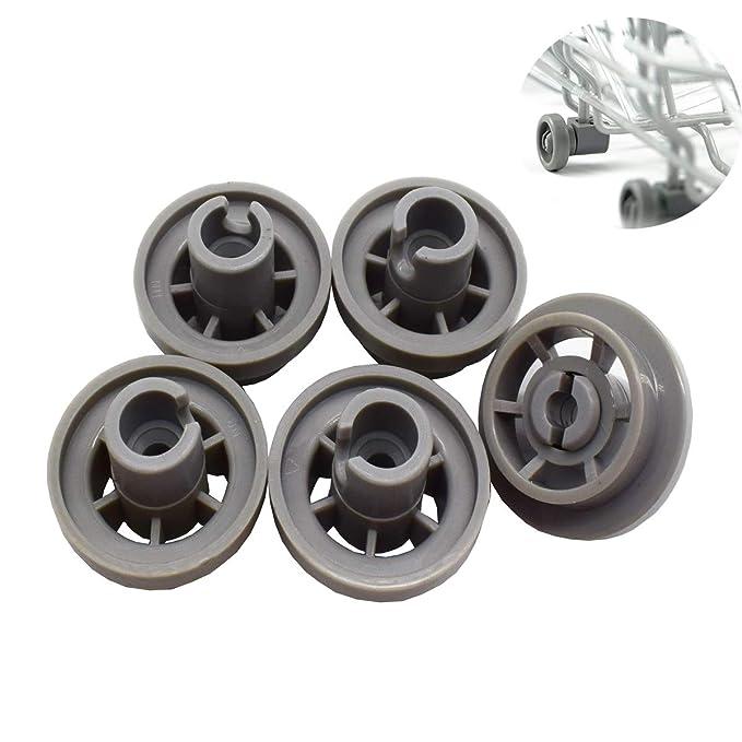 Mengger Lavavajillas ruedas cesta rollo lavavajilla Inferior bajo ...