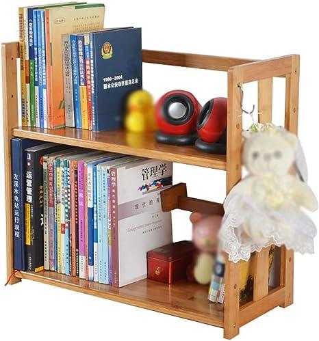 HFYAK Librería de Escritorio, Estantería de Escritorio ...