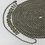 Metal Pull Chain,3.2 mm Diameter Beaded Fan