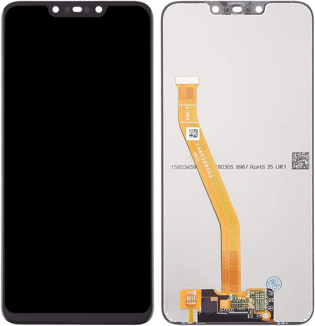 Black Color : Black YANGJ LCD Screen and Digitizer Full Assembly for Huawei Nova 3