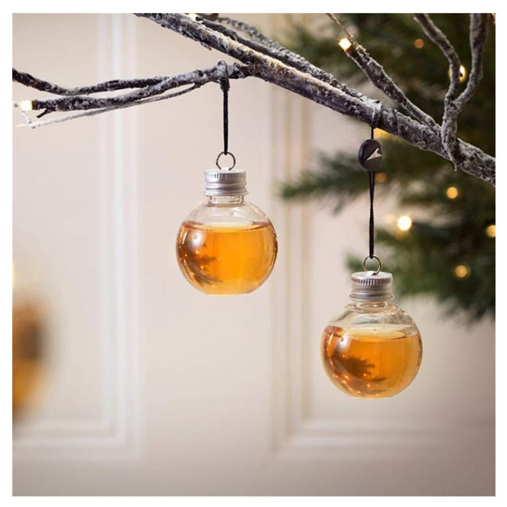 Amazon.com: Botella de botella, diseño de árbol de Navidad ...