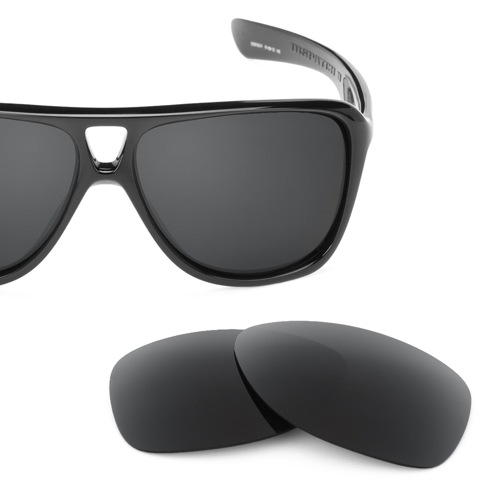 Revant Polarized Replacement Lenses for Oakley Dispatch 2 Stealth Black