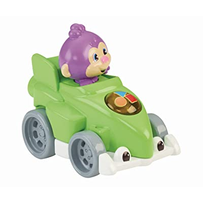 Fisher-Price Laugh & Learn Smart Speedsters, Monkey: Toys & Games