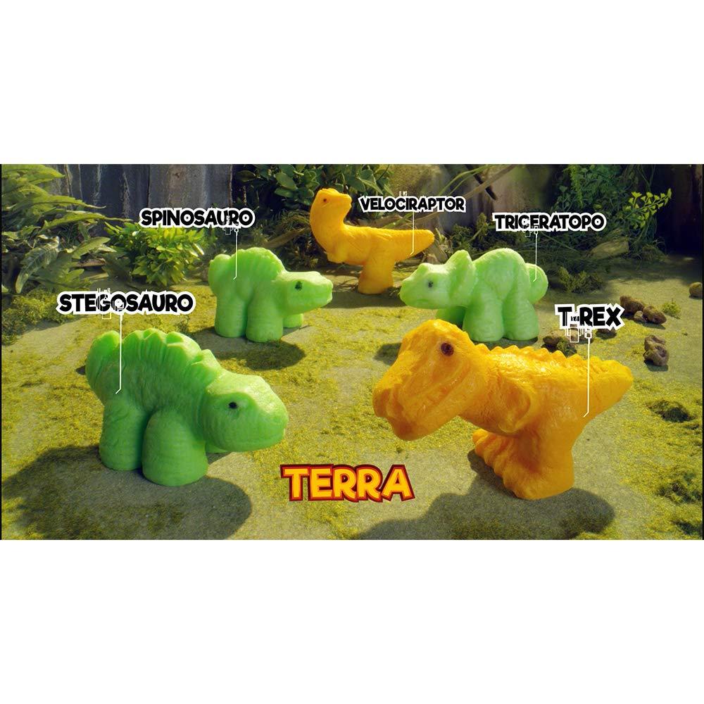 Dino Eggs Cielo mar Terra-12 Piezas Colecci/ón Completa 018c-19 Sbabam