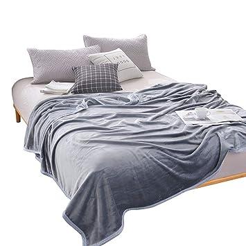 Amazon.com: Vaclziy - Manta de franela gruesa y cálida ...
