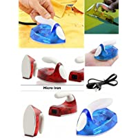Taran New Micro Mini Travel Compact Portable Electrical Clothes Ironing Press Iron- Assorted Color