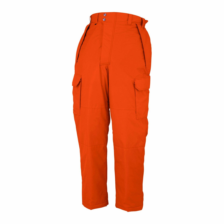 【コーコス】 CO-COS 防寒着 防寒パンツ (脇シャーリング) (A-1403) 【M~5Lサイズ展開】 B005QUR27I 3L|ウォームオレンジ ウォームオレンジ 3L