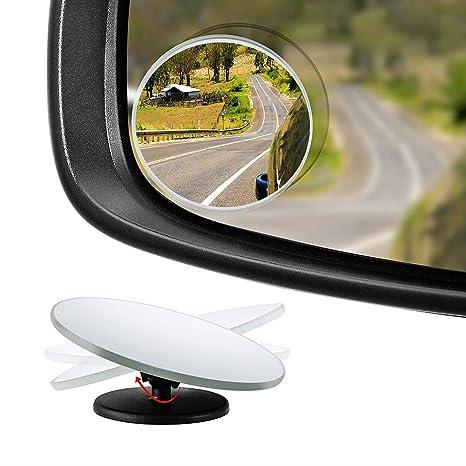 Amazon Fr Poseca 2 Miroirs A Angle Mort Retroviseurs Aveugles Pour