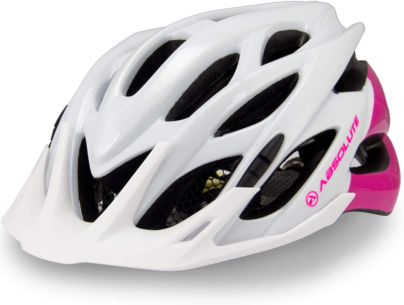 Capacete Ciclismo Bike Feminino Absolute Wild Mia Led Pisca