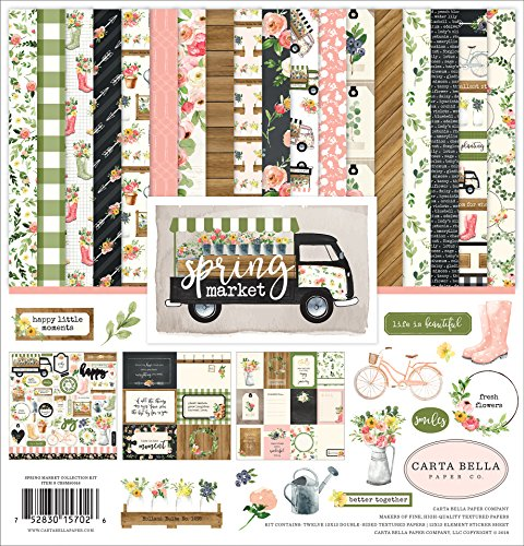 Carta Bella Paper Company Spring Market Collection Kit by Carta Bella Paper