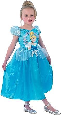 Disney - Disfraz de princesa para niña, talla S (104 cm) (I ...