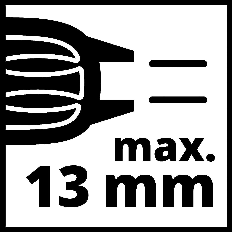 perforaci/ón// taladrado de Percusi/ón, portabrocas de Liberaci/ón R/ápida de 13 mm, Incluye juego de brocas de 5 piezas para hormig/ón Einhell Juego de Taladro percutor TC-ID 720//1 E