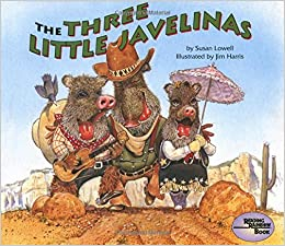 the three little javelinas reading rainbow book susan lowell