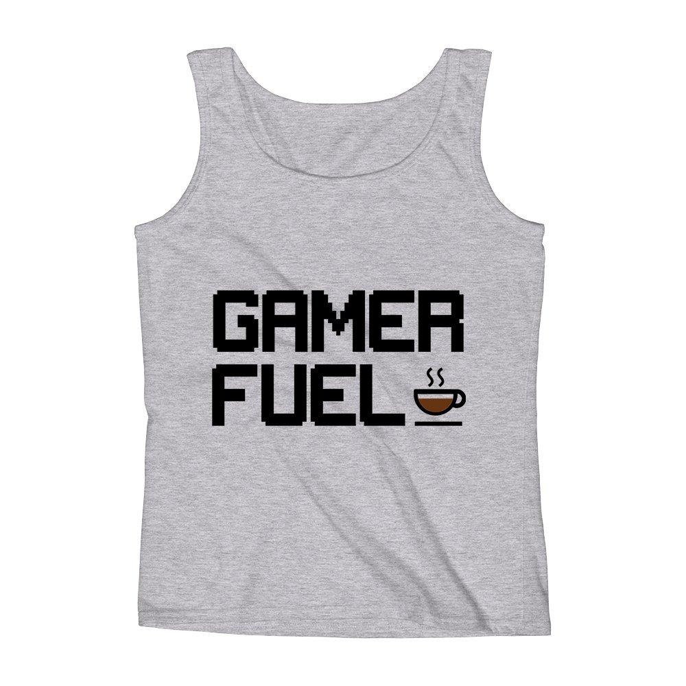 Mad Over Shirts Gamer Fuel Unisex Premium Tank Top