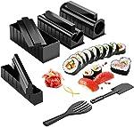 Sushi Making Kit,Sushi Roller 11 Pcs Diy Sushi Making Kit Roll