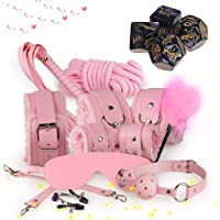 Pink Leather Garment 10 kit, Advantage and Submission + Multi-Faced dice