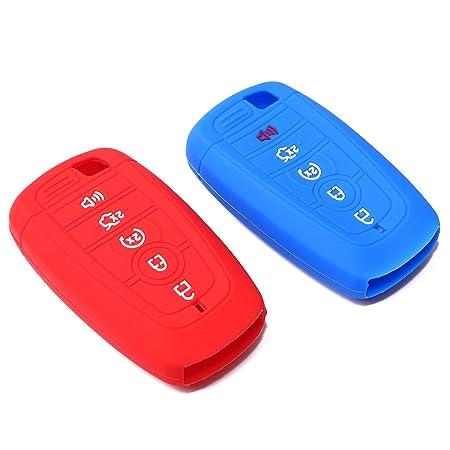 Amazon.com: Hvasun - Carcasa de silicona para llave de coche ...