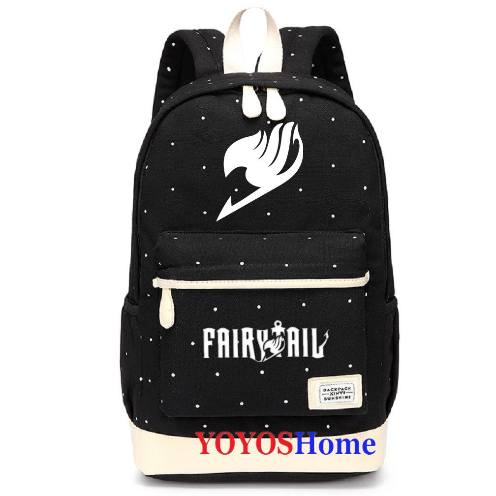 YOYOSHome Anime Fairy Tail Cosplay Daypack Bookbag Laptop Bag Backpack School Bag (2)