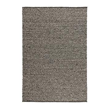 Ikea BASNAS – Teppich, flatwoven, Grau, Beige – 140 x 200 cm ...