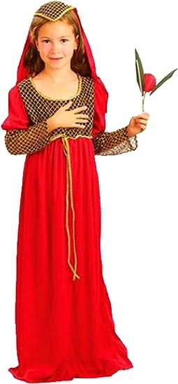 erdbeerclown – Disfraz de carnaval para niña de Medieval Julia ...