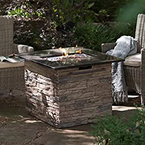 Amazon Com Red Ember Coronado Gas Fire Pit Table With
