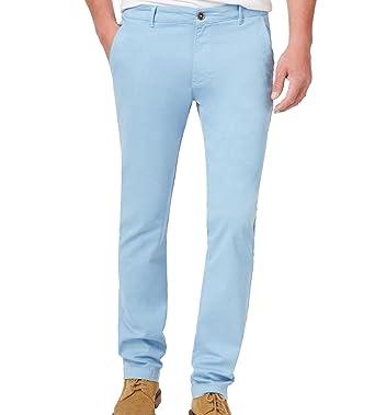 Weatherproof Mens Twill Casual Chino Pants Blue 36x32 at Amazon ... 78a4caac5beb