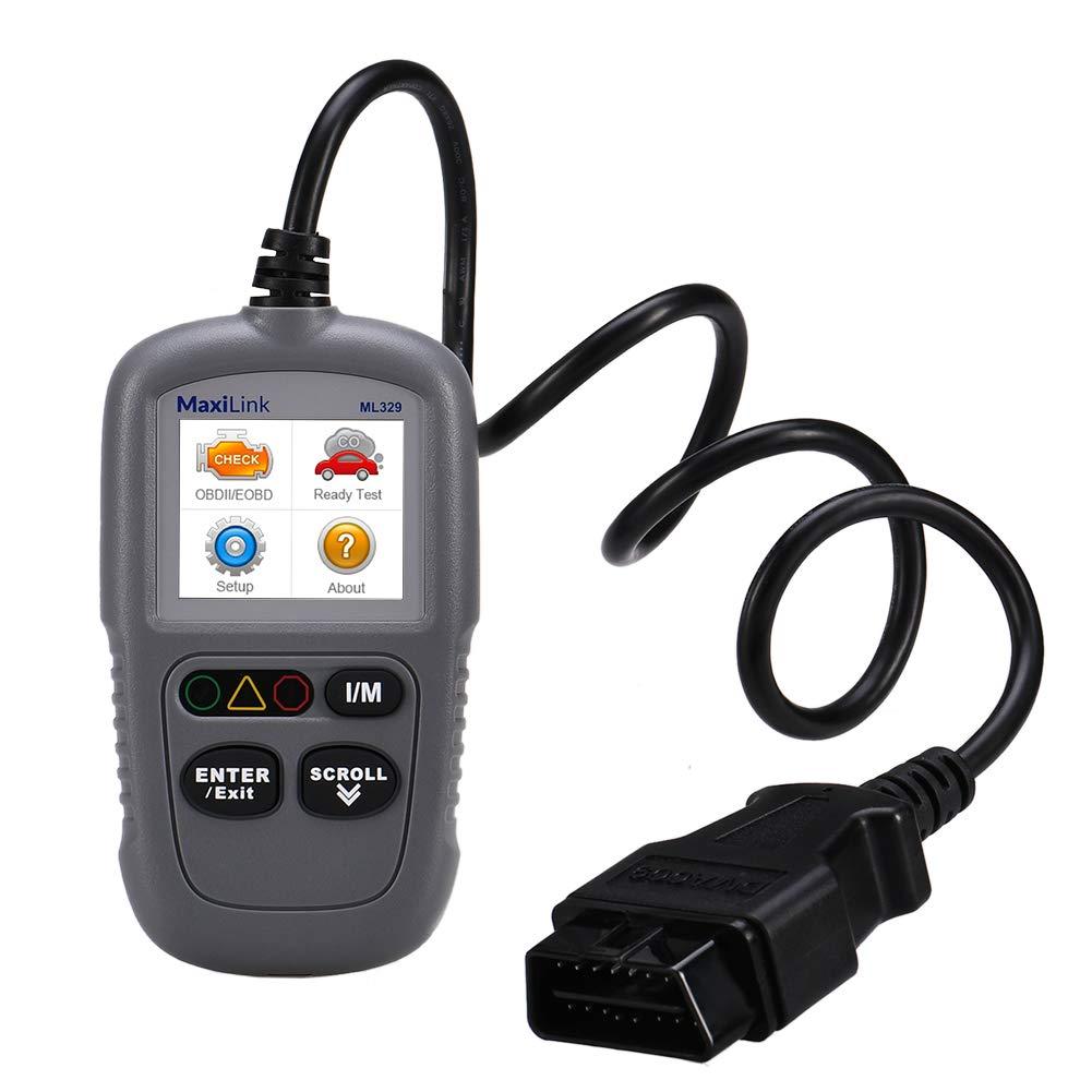 Autel ML329 Outil de Diagnostic Voiture Scanner OBD2 Can de D/éfauts de Moteur avec I//M Brevet/és en Un Clic et AutoVin