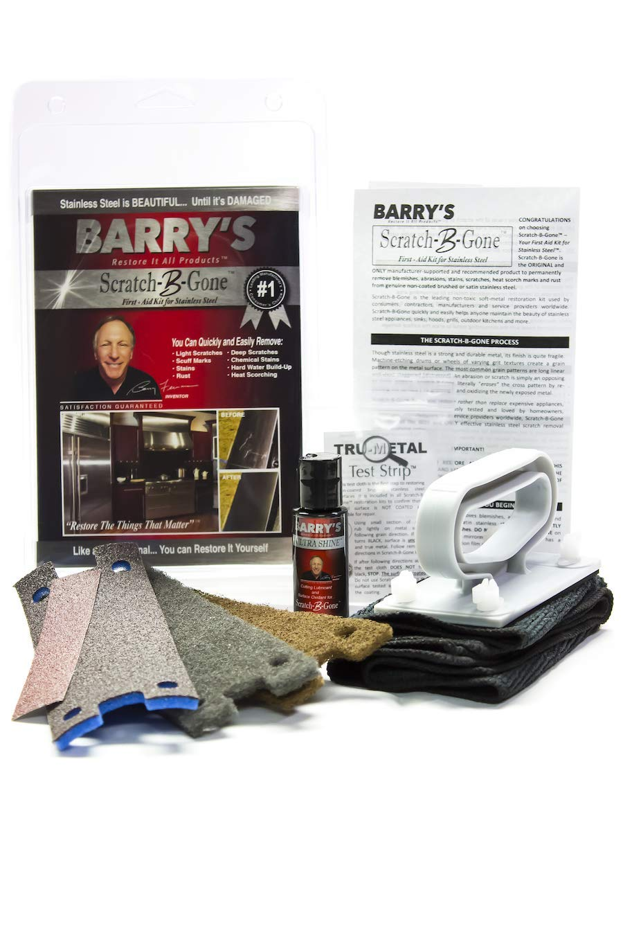 Barry's Restore It All Products - Scratch-B-Gone Homeowner Kit by Barry's Restore It All Products